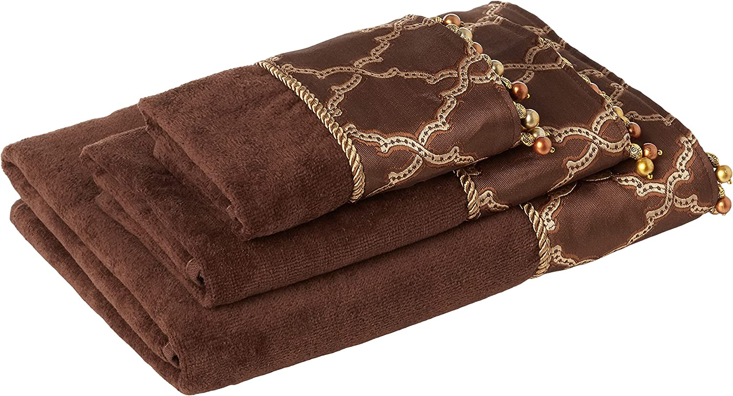Austin Horn Classics Opening large release sale Somerset Ranking TOP20 3-Piece Decorative Embellish Brown