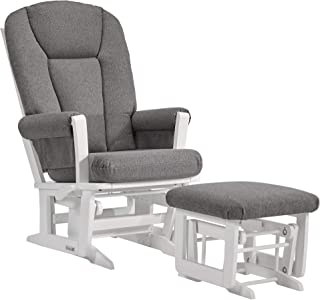 Dutailier Modern 0388 Glider Multiposition-Lock Recline with Ottoman Included