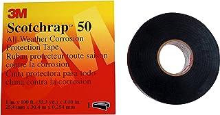 3M™ Scotchrap™ Vinyl Corrosion Protection Tape 50, Unprinted, 1 in x 100 ft, Black