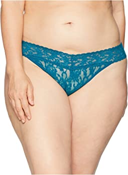 Plus Size Signature Lace Original Rise Thong