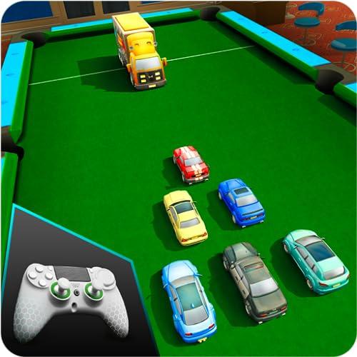 Billard Pool Cars Abriss: RCC-Simulation