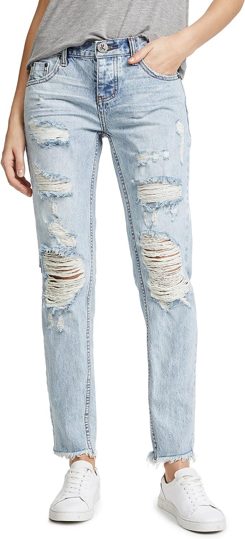 One Teaspoon Women's bluee Hart Awesome Baggie Jeans