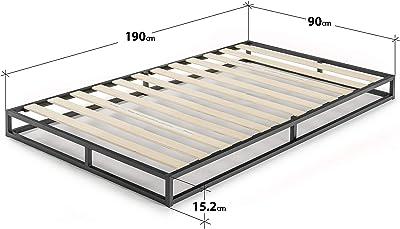 Zinus Cama de plataforma Joseph Modern Studio de 15,2 cm ...