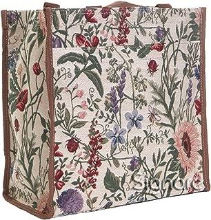 Womens Fashion Tapestry Shopper Bag Shoulder Bag