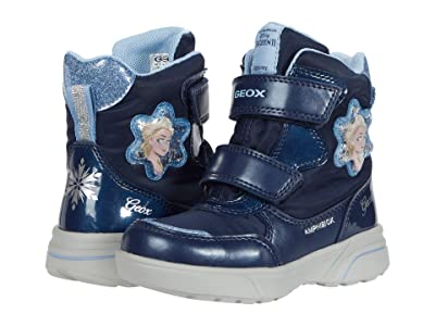 Geox Kids Sveggen B ABX 3 (Toddler/Little Kid) (Navy/Sky) Girl