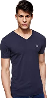 Calvin Klein Jeans Men's Essential Slim V Neck Knitwear