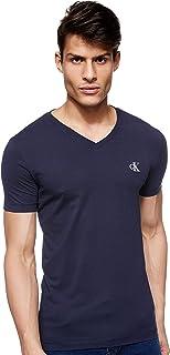 Calvin Klein Jeans Men's Essential Slim V Neck Knitwear