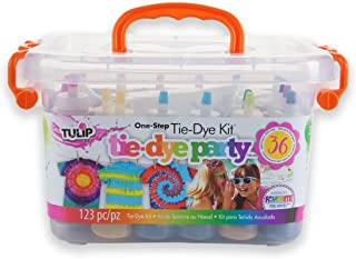 Tulip One-step Tie-Dye Party Kit, Ideal for Fashion DIY...