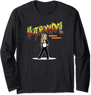 WWE Nerds Clothing Hot Ronda Rousey Cartoon Long Sleeve