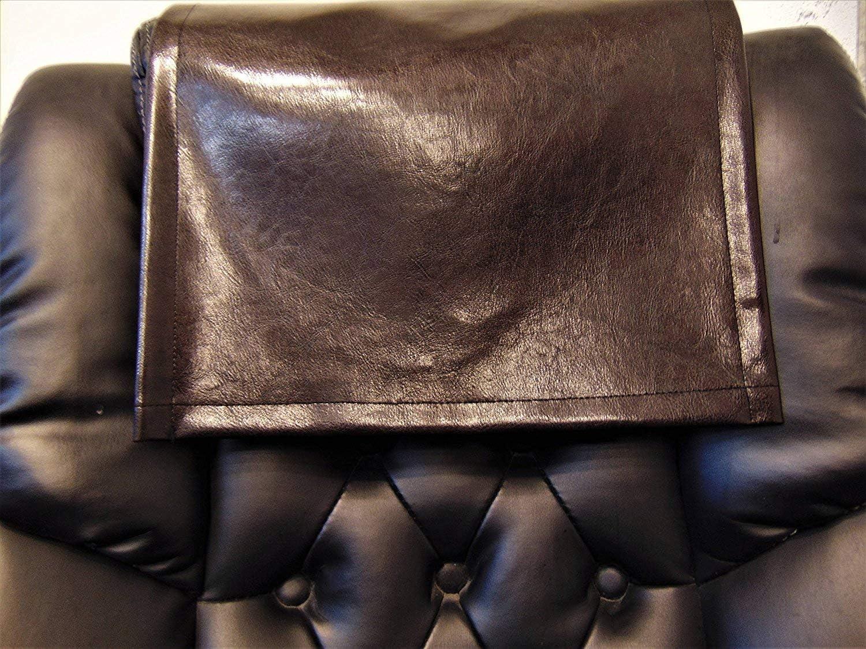 5 ☆ popular LUVFABRICS 30 by INCH Dark Brown Sofa Leather Louisville-Jefferson County Mall Faux Love Vinyl