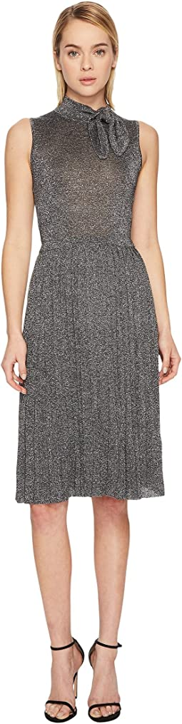 Kate Spade New York - Metallic Knot Sweater Dress