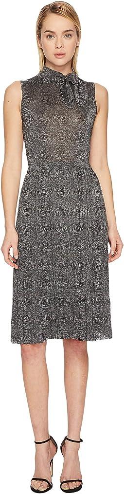 Kate Spade New York - Metallic Knot Sweater Dress