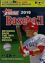 2018 topps heritage baseball variations