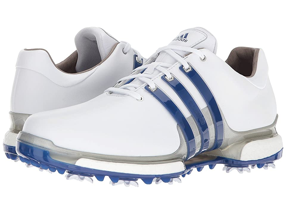 adidas Golf Tour360 2.0 (Footwear White/Collegiate Royal/Silver Metallic) Men