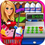 Supermarket Superstore Cash Register Simulator - Grocery Store Cashier Kids Fun...