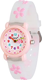 Wolfteeth Girls Watch for Kids Watches Waterproof Unique Transparency Watch Band 3083