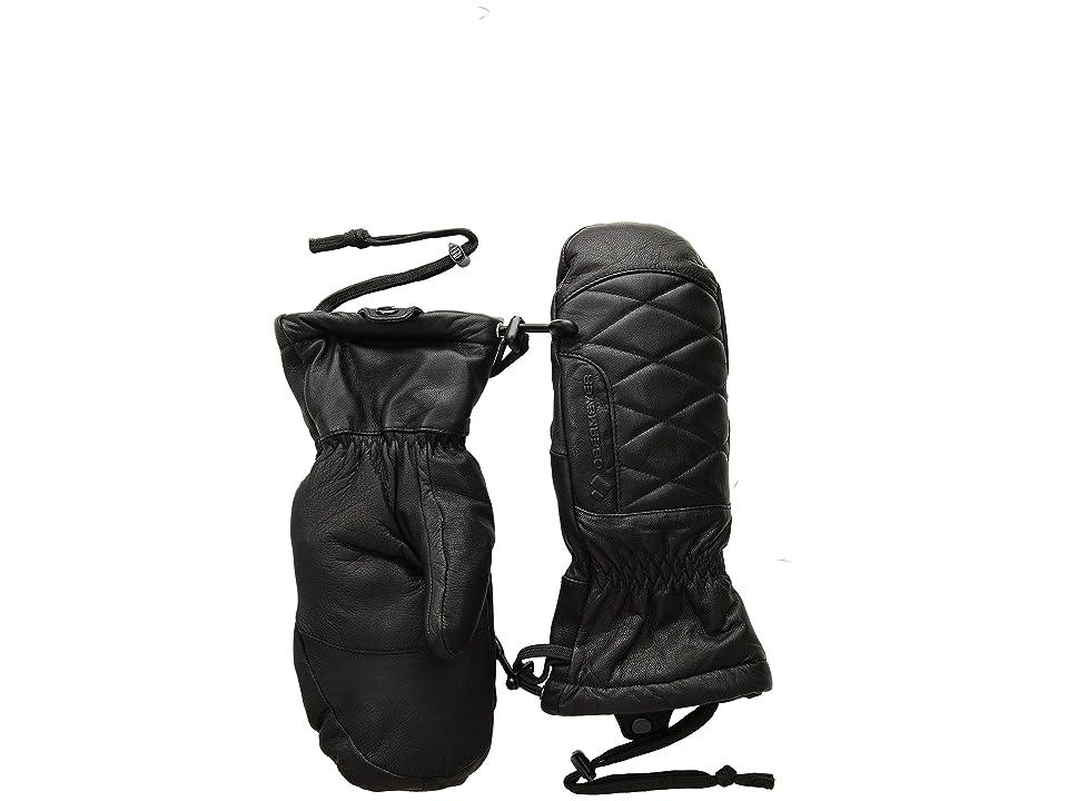 Obermeyer Down Mitten (Black) Over-Mits Gloves