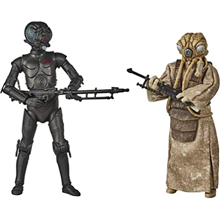 "STAR WARS Black Series 40th 6"" BOUNTY HUNTERS Figures 4-LOM /& ZUCKUSS ~ IN HAND"