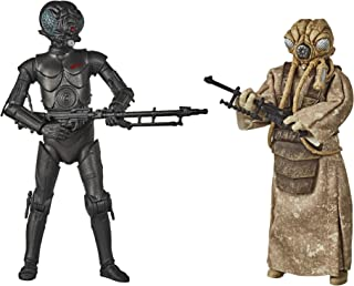 Star Wars The Black Series 4-LOM and Zuckuss Toys 15 cm Scale Star Wars: The Empire Strikes Back Collectible Figures 2 Pac...