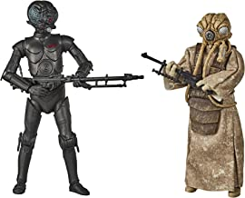 Star Wars The Black Series 4-LOM and Zuckuss Toys 6-Inch-Scale The Empire Strikes Back Collectible Figures 2-Pack (Amazon ...