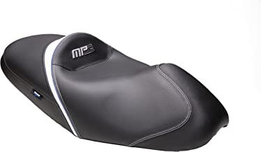 SHAD SHV0M2320 Motorbike Seat for Piaggio MP3 250, Black