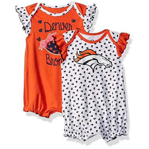 b509f226fc7 NFL Girls Newborn Heart Fan 2Piece Creeper Set