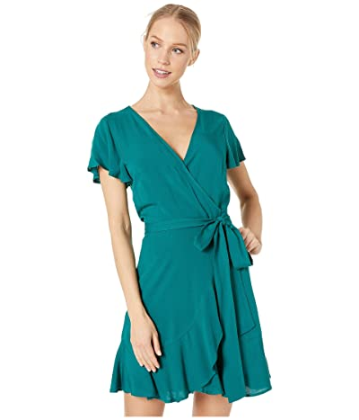 BCBGeneration Wrap Dress YPN6206216 (Sea) Women