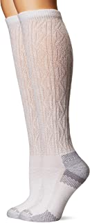 Women's Diabetic and Circulatory Texture Knee-Hi 2 Pack Sock