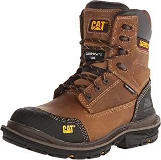 Men's Fabricate 8 Inch Tough Waterproof Comp Toe Work Boot