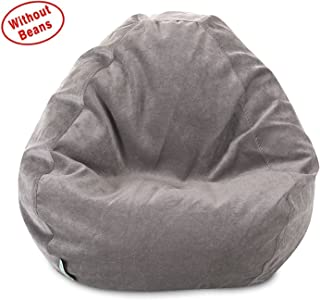 aa9e1b1532 Ink Craft - Classic Bean Bag Chair Cover- Villa Giant Classic Bean Bags for  Small