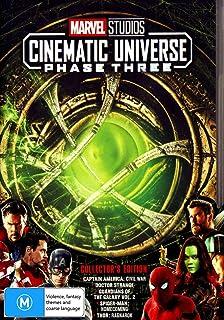 Marvel DVD Phase 3 (Part 1) 5 DVDs