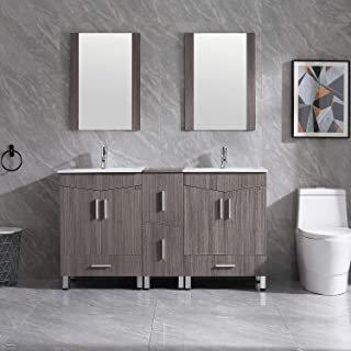Best double sink vanity and cabinet Reviews