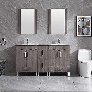 Best modern double sink bathroom vanity set Reviews