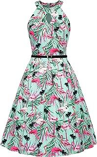flamingo retro dress