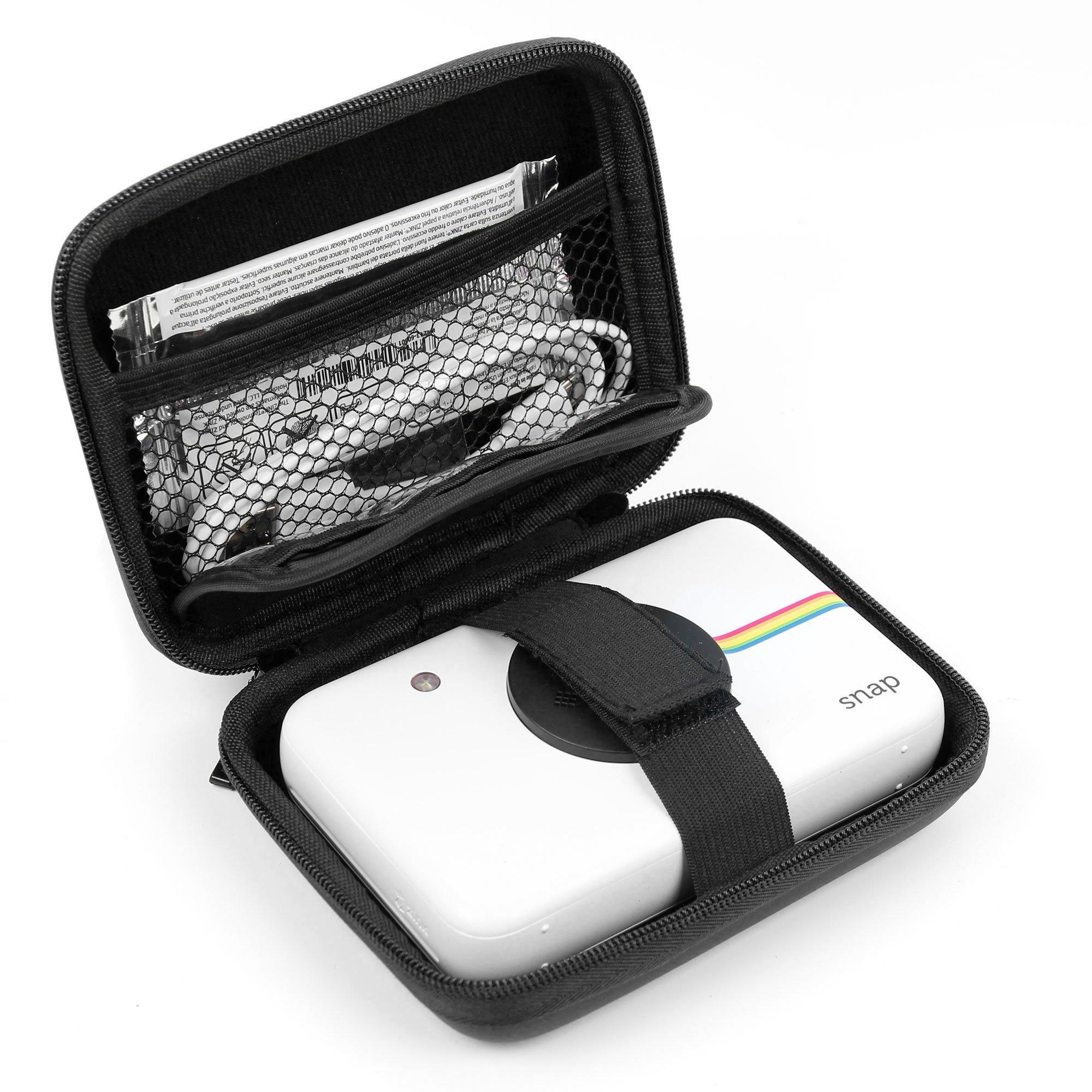 Estuche | Funda para Polaroid Snap Touch | Snap – Con pequeño mosquetón + Compartimento interior – Durgadget: Amazon.es: Electrónica