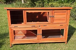 150 cm XXL Double Storey Hutch Guinea Pig Ferret Cage House