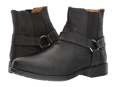 Massimo Matteo Biker Boot (Black) Men