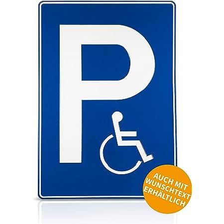 Parkplatzschild Mit Einschlagpfosten Bzw Einschlagspieß Und Schildhalterung Plus Parkplatzschild Freihalten Nr 35438 Bürobedarf Schreibwaren