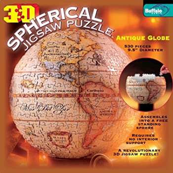 Buffalo Games 3D Spherical Puzzle - Antique Globe