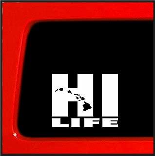 Hawaiian Hi Life - Sticker/Decal - 7