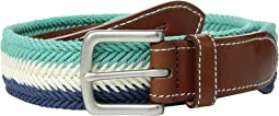 Prep Stripe Waxed Cord Belt