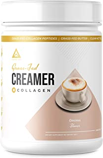 Grass-fed Keto Creamer: Collagen Protein + C8 MCT Oil + Irish Butter | Keto Bomb BPC Coffee Creamer | Ketogenic Diet Ketos...
