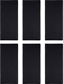 6-Pack Menu Holder - Menu Covers for Restaurant, Bar, Lounge, Happy Hour Drinks, Wine List, Double View with Clear PVC Sheets for Paper Protection, 11.3 x 5 Inches