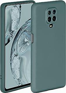 ONEFLOW Soft Case kompatibel mit Xiaomi Redmi Note 9 Pro Hülle aus Silikon, erhöhte Kante für Bildschirmschutz, zweilagig, weiche Handyhülle   matt Petrol