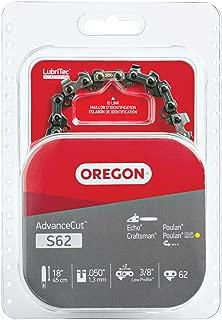 Oregon, Poulan S62 AdvanceCut 18-Inch Chainsaw Chain Fits Craftsman, Homelite, 1 Pack, Basic Pack
