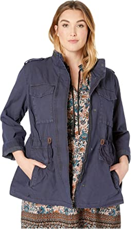 da58c0cb8c0 Navy. 11. Levi s®. Plus Size Parachute Cotton Military Jacket