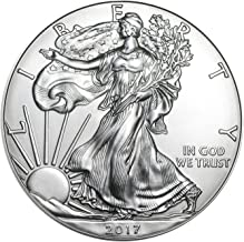 2017 American Silver Silver with Airtite Holder .999 Fine Silver Dollar Brilliant Uncirculated
