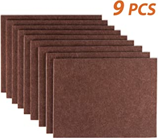 Furniture Pads Set of 9 Self Adhesive Furniture Felt Pads, 8