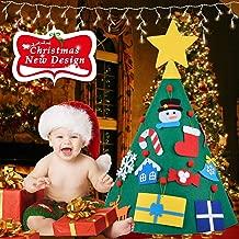 crawling baby christmas tree