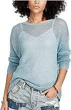 Denim & Supply Ralph Lauren Womens Linen Long Sleeves Pullover Sweater